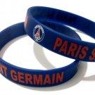 Paris Saint German Football Soccer Club Silicone Rubber Bracelet Sport Team Unisex Fashion Wristband