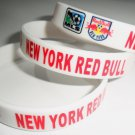 New York Red Bulls MLS Team Silicone Rubber Soccer Bracelet Sport Unisex Fashion Football Wristband