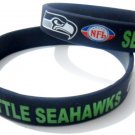Seattle Seahawks NFL American Football Team Silicone Rubber Bracelet Sport Unisex Fashion Wristband