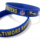 Baltimore Ravens NFL American Football Team Silicone Rubber Bracelet Sport Unisex Fashion Wristband