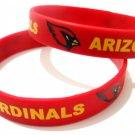 Arizona Cardinals NFL Football Team Silicone Rubber Bracelet Sport Unisex Fashion Wristband