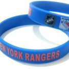 New York Rangers NY NHL Hockey Team Silicone Rubber Bracelet Sport Unisex Fashion Wristband