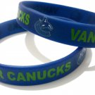 Vancouver Canucks NHL Hockey Team Silicone Rubber Bracelet Sport Unisex Fashion Wristband