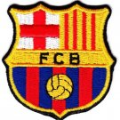 FC Barcelona MultiColor Football Team Soccer Embroidered Iron On Backing Heat Seal Patch