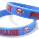 Philadelphia Phillies MLB Baseball Team Silicone Rubber Bracelet Sport Unisex Fashion Wristband