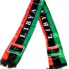 Libya Flag Unisex Neck Fashion Arabian Scarf Desert Shawl Shemagh Libyan Wrap