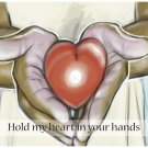 Hold my heart in your hands