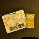 UBS Gold Bullion Bar 5 Gr 999.9% Certified