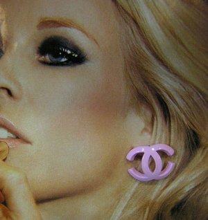 Baby Pink Mini Earrings