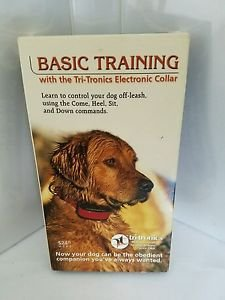 basic training with the tri-tronics electronic collar