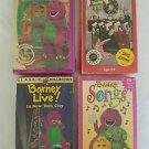 Barney Collection Waiting For Santa -4 VHS Sing Along Lyons Group 1992