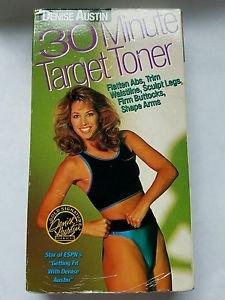 Denise Austin - 30 Minute Target Toner (VHS, 2000)