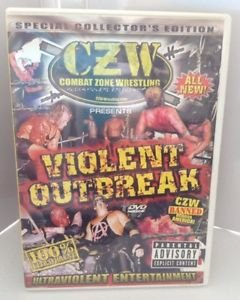 Combat Zone Wrestling: Violent Outbreak (DVD, 2004)