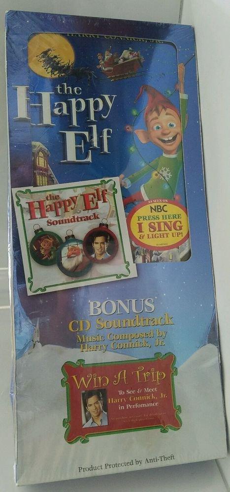 The Happy Elf (DVD, 2005) plus bonus cd soundtrack