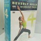 Janis Saffell - Beverly Hills Workout (DVD, 2007, 4-Disc Set)