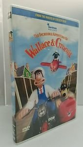 The Incredible Adventures of Wallace & Gromit (DVD, 2001)