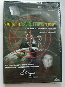 Robert Kiyosaki Shooting the Sacred Cows of Money DVD