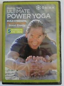 Rodney Yee's Ultimate Power Yoga (DVD, 2010)