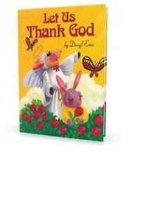 Let Us Thank God - Personalized Children's Books