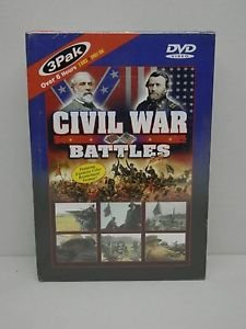 Civil War Battlefields - 3 DVD (DVD, 2001, 3-Disc Set)New