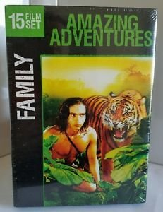 Family 15 Film Set: Amazing Adventures (DVD, 2011, 2-Disc Set)