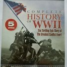 Complete History of World War II (DVD, 2003, 5-Disc Set)