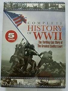 Complete History of World War II (DVD, 2003, 5-Disc Set)