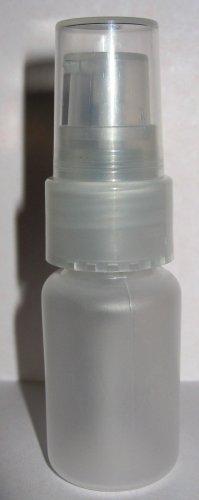 (20) 1/2 oz Frosted Plastic Bottle w/ Sprayer Atomizer