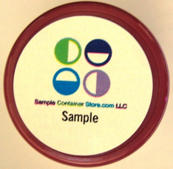 """(120) Weatherproof Laser Printed 1"""" Round Labels Read entire listing for instructions"""