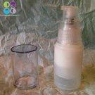 (100) 30 ml  Clear Airless round Bottles &  Pump Set