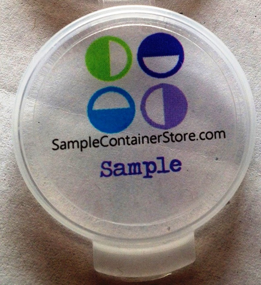 """(120) Crystal Clear Custom Laser Printed 1"""" Round Labels Read entire listing for instructions"""