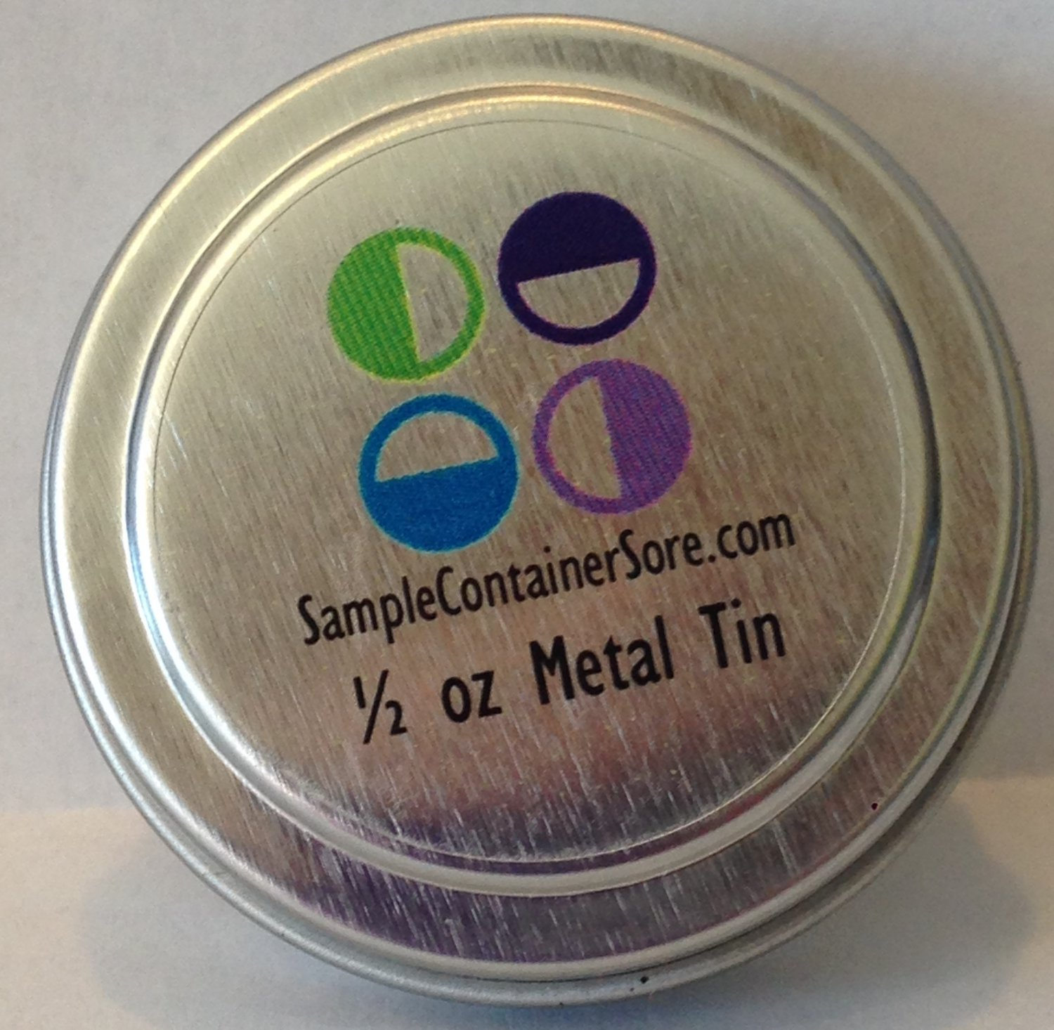 """(48) 1.2"""" Crystal Clear Custom Laser Labels for 1/4 oz Sample Containers Read entire listing"""