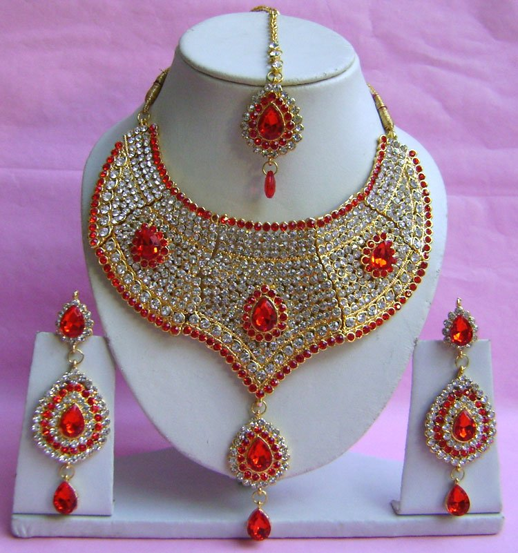 Dulhan Jewellery Necklace Wedding Set Ph 0091 9756300115