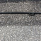 Volvo XC90 roof RAIL, left hand / driver side, black color, part # 8663693