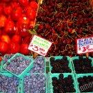 Fruit Stand - Pike Place Market - 8x10 - Original Fine Art Photograph - FREE SHIPPING