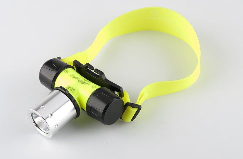 1200 Lumen CREE T6 LED Waterproof Diving Headlamp [TD16701A]