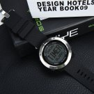 Sunroad FR1001 Waterproof Watch w/ World Time, Alarm, Timer [TD22393A]