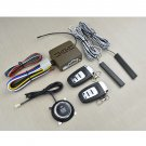 8pc 12V Universal Car Alarm Kit w/ Remote Start, Keyless Entry [TD23602B]