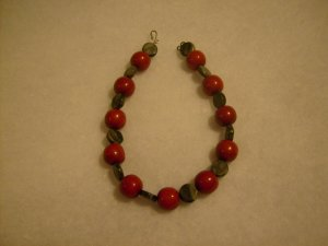 Red and Black Choker
