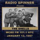 THE SHELLS on DON K. REED DOO WOP SHOP WCBS FM 1-12-97