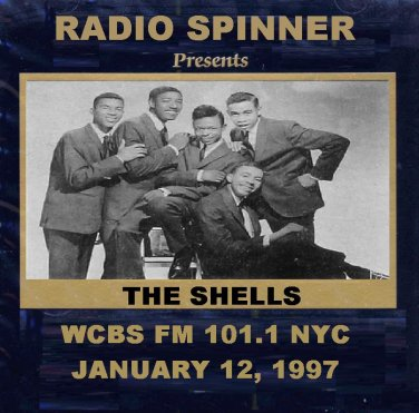 THE SHELLS on DON K. REED DOO WOP SHOP WCBS FM 1-12-97