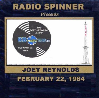 JOEY REYNOLDS RADIO SHOW WKBW 1520 AM BUFFALO 2-22-64