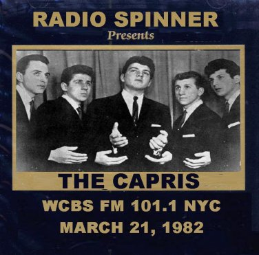 The Capris on Don K. Reed Doo Wop Shop WCBS FM