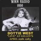 "DOTTIE WEST ""LIVE"" AT GILLEY'S IN TEXAS APRIL 29th 1983"