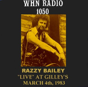"RAZZY BAILEY ""LIVE"" AT GILLEY'S TEXAS"