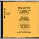 THE CAPRIS DOO WOP CD LOST NITE RECORDS
