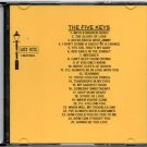 THE FIVE KEYS DOO WOP CD LOST NITE RECORDS