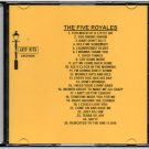 THE FIVE ROYALES DOO WOP CD LOST NITE RECORDS
