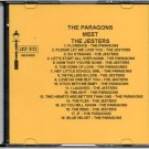 THE PARAGONS MEET THE JESTERS DOO WOP CD LOST NITE RECORDS