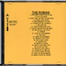 THE ROBINS DOO WOP CD LOST NITE RECORDS